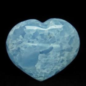 ブルーカルサイト ハート置物 155-115