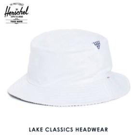ハーシェル Herschel ハット Lake S/M Classics Headwear 1025-0052-SM White/Navy Gingham