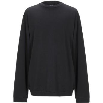 《セール開催中》LABO. ART メンズ スウェットシャツ ブラック 1 コットン 100%