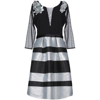《期間限定セール開催中!》SARA RUIZ by MSA レディース ミニワンピース&ドレス ブラック 42 ポリエステル 100%