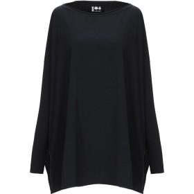 《期間限定セール開催中!》LABO. ART レディース T シャツ ブラック 1 コットン 95% / ポリウレタン 5%