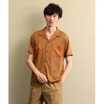 【20%OFF】 ラブレス MEN カットソーポンチオープンカラーシャツ メンズ ブラウン8 2 【LOVELESS】 【セール開催中】