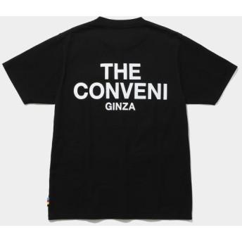 ザ・コンビニ/THE CONVENI POCKET T/ブラック/M