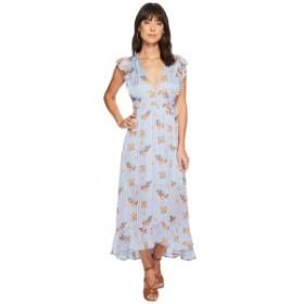 アストール レディース ワンピース トップス Lila Dress Blue/Peach Floral