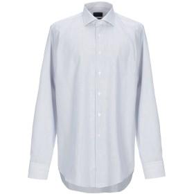 《期間限定セール開催中!》ALMOST BLUE メンズ シャツ ホワイト 44 コットン 100%