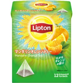 リプトン マンダリンオレンジティー ティーバッグ (12袋入)