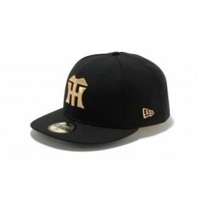 ニューエラ(NEW ERA) 59FIFTY NPB 阪神タイガース ブラック×ゴールド 11121923 (Men's)