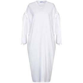 bee00868f425a 《セール開催中》SJYP レディース 7分丈ワンピース・ドレス ホワイト S コットン