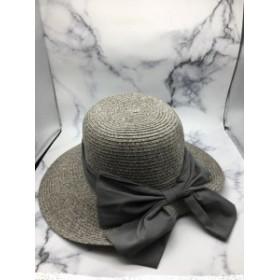 折りたたみ つば広 ハット 紫外線カット旅行用 たためる 携帯 帽子 日よけ ナチュラル 紫外線対策 熱中症対策 アウトドア リボン エレガ