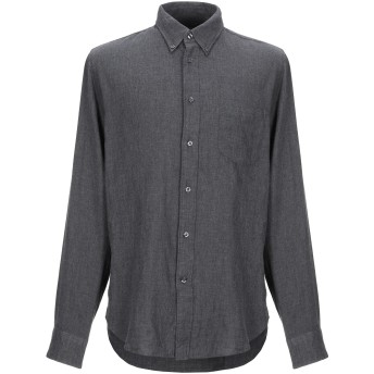 《9/20まで! 限定セール開催中》BELLEROSE メンズ シャツ 鉛色 S コットン 100%