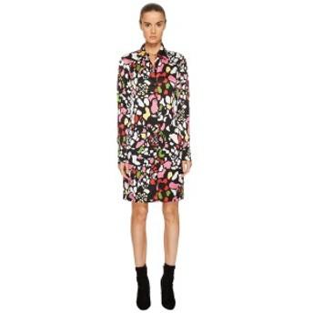 ソニアリキエル レディース ワンピース トップス Runway Flower Viscose Printed Shirtdress Multi Black