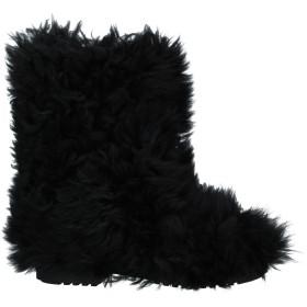 《期間限定 セール開催中》SAINT LAURENT メンズ ブーツ ブラック 39 羊革(ラムスキン)