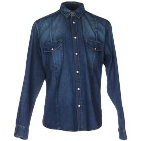 《期間限定セール開催中!》GOLDEN GOOSE DELUXE BRAND メンズ デニムシャツ ブルー S コットン 100%