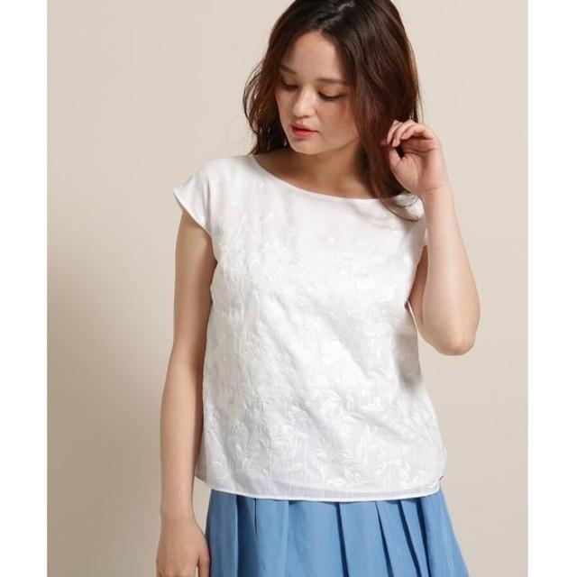 anatelier / アナトリエ ライトローン刺繍シャツ