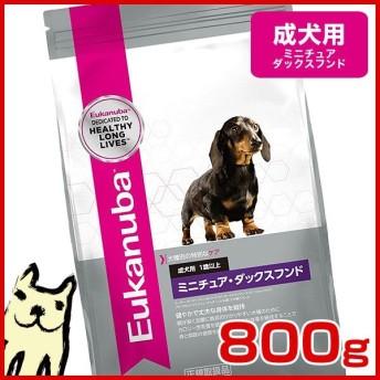 [ユーカヌバ]Eukanuba ミニチュア・ダックスフンド 成犬用 1歳以上 800g 犬用 ユカヌバ ドッグフード ドライフード 3182550891431 #w-156488