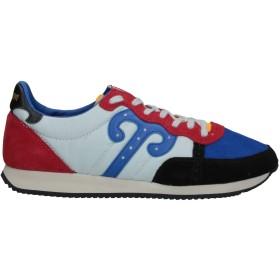 《セール開催中》WUSHU SHOES メンズ スニーカー&テニスシューズ(ローカット) ブルー 38 革 / 指定外繊維