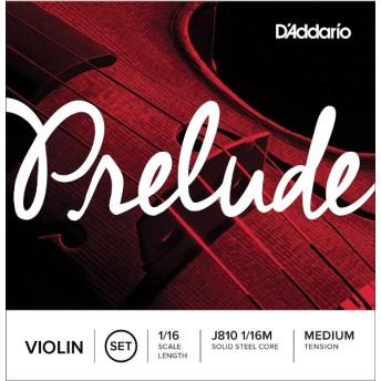 バイオリン弦 PRELUDEセット J810 1/16M PRELUDE SET MED ミディアム