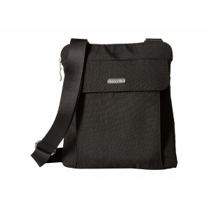 All In RFID Slim Cross Body Bag Charcoal バッグ レディース バッガリーニ ショルダーバッグ