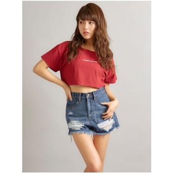 MINK TOKYO FUNNYBUNNYTシャツ レッド