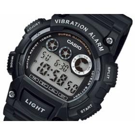 カシオ CASIO STANDARD メンズ デュアルタイム 腕時計 時計 W-735H-1AJF 国内正規