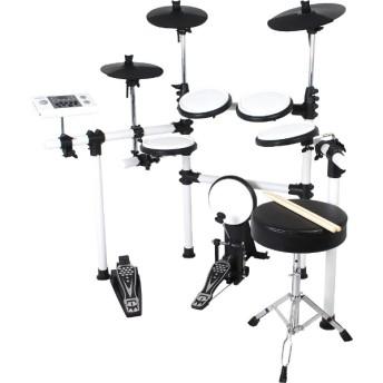 電子ドラム(ドラムスティック/ドラムイス付き) DD-504J-DIY KIT/WH ホワイト