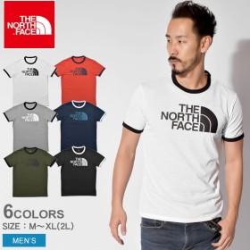 THE NORTH FACE ザノースフェイス 半袖Tシャツ リンガーティー RINGER TEE NT31880 メンズ