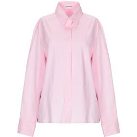 《期間限定セール開催中!》INSIEME レディース シャツ ピンク 40 コットン 97% / ポリウレタン 3%