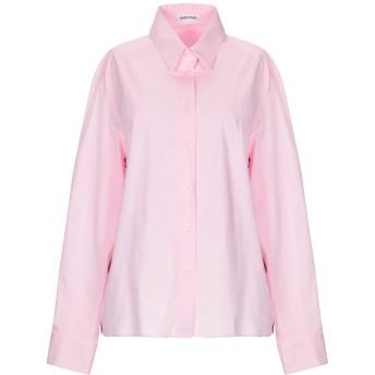 《セール開催中》INSIEME レディース シャツ ピンク 40 コットン 97% / ポリウレタン 3%