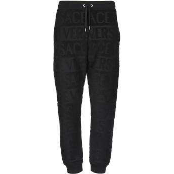 《期間限定セール開催中!》VERSACE メンズ パンツ ブラック XL コットン 100%