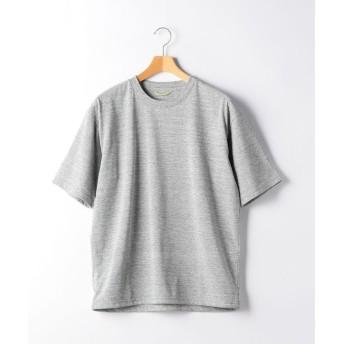 【50%OFF】 グリーンレーベルリラクシング MC ○ACT DRY ヘムコードクルー SS Tシャツ <機能性生地 / 吸水速乾> メンズ MDGRAY S 【green label relaxing】 【セール開催中】