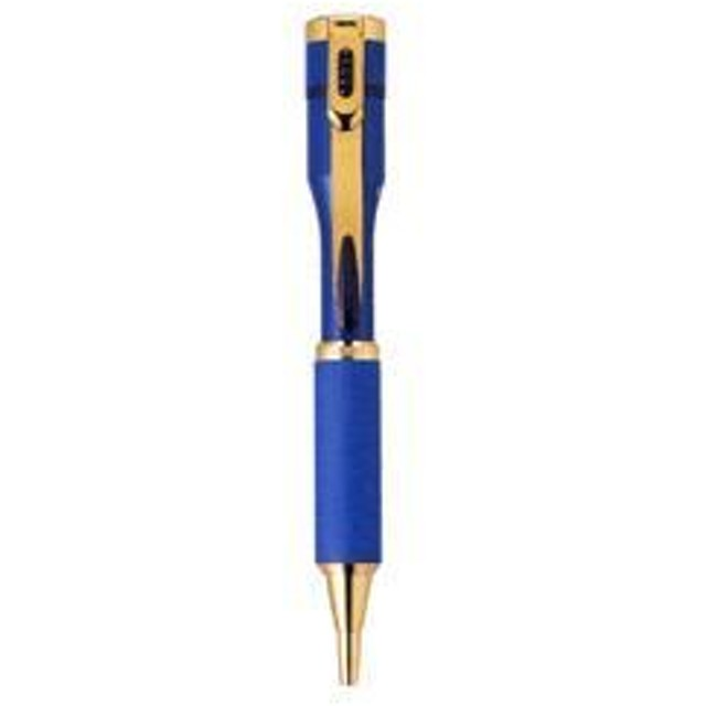 シャチハタ ネームペン キャップレスS 【ペン色:青】(既製品):「沖野」