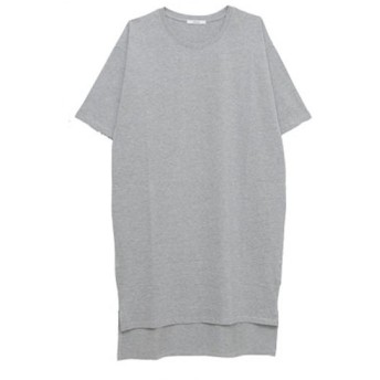 [マルイ] 五分袖裾スリットIラインカットソーワンピース/ハッピーマリリン(大きいサイズ)(AHAPPYMARILYN)