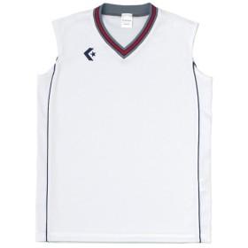 コンバース ウィメンズゲームシャツ CB36712 ホワイト×ネイビー CONVERSE CB36712 1129