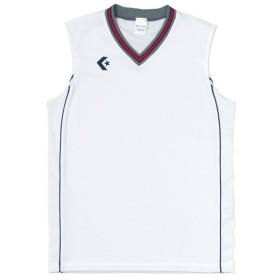コンバース ゲームシャツ CB26712 ホワイト×ネイビー CONVERSE CB26712 1129