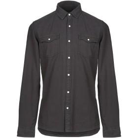 《期間限定セール開催中!》SELECTED HOMME メンズ シャツ ブラック S コットン 100%