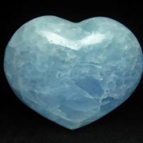 ブルーカルサイト ハート置物 155-93