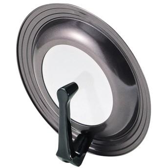 パール金属 ガラス窓付 立つフライパンカバー グルメクック H-7899 調理器具