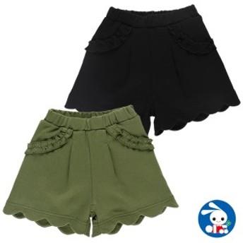 スムース裾フリルショートパンツ【80cm・90cm・95cm】[女の子][西松屋]