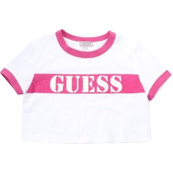 Tシャツ - GUESS【WOMEN】 [GUESS Originals] S/S RINGER CROP TEE【JAPAN EXCLUSIVE ITEM】