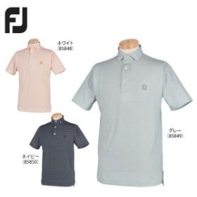 [62%OFF] フットジョイ メンズ グラニット 半袖 ボタンダウンポロシャツ FJ-F18-S03 [2018年モデル]