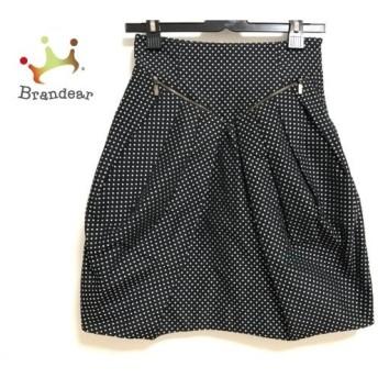 シーバイクロエ SEE BY CHLOE スカート サイズ2 M レディース 黒×白 ドット柄 スペシャル特価 20190915