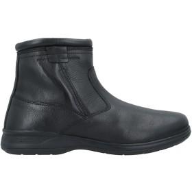 《期間限定セール開催中!》PREGUNTA メンズ ショートブーツ ブラック 39 革