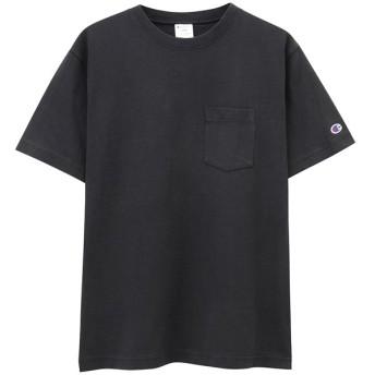 【40%OFF】 マックハウス Champion チャンピオン プリントTシャツ C3 M349 メンズ ブラック L 【MAC HOUSE】 【タイムセール開催中】