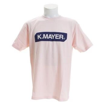 クリフメイヤー(KRIFF MAYER) ブランドロゴTシャツ BOX 1819905-2-PNK (Men's)