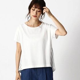 <COMME CA ISM (レディース)> ストライプ デザインTシャツ(ONIGIRI)(5268CL89) 01 【三越・伊勢丹/公式】