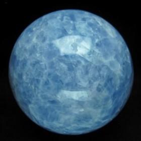 2.3Kg ブルーカルサイト 丸玉 スフィア 123mm [送料無料] 161-142