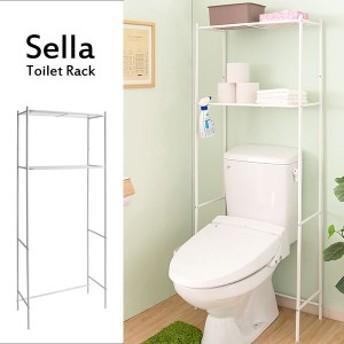 【すぐ使えるクーポン進呈中】【送料無料!ポイント2%】トイレ上ラック Sella(セラ)TR-1570 トイレ上ラック トイレ シンプル ナチュラ
