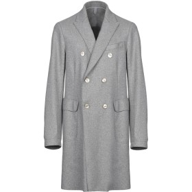 《期間限定セール開催中!》SEVENTY SERGIO TEGON メンズ コート グレー 48 ウール 70% / ナイロン 25% / 指定外繊維 5%