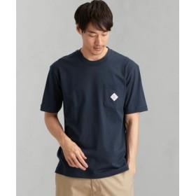 (green label relaxing/グリーンレーベルリラクシング)[ペイデイ] SC★★PAYDAY ロゴ ポケット-Tシャツ/メンズ NAVY
