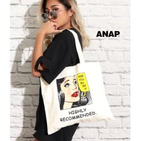 【セール開催中】ANAP(アナップ)アメコミプリントトートBAG